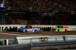 Homestead, FL - Nov 20, 2015: NASCAR teams take to the track on Goodyear tires for NASCAR at Homestead-Miami Speedway in Homestead, FL.